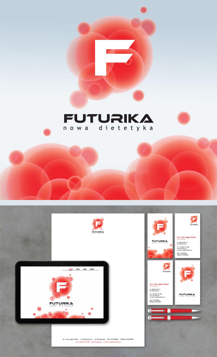 """FUTURIKA"" nowa dietetyka Corporate Identity"