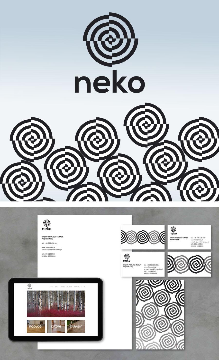 """""""NEKO"""" Door Floor Terraces Corporate Identity"""